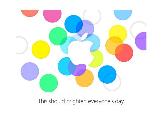 Apple lädt mit bunten Ringen zur Pressekonferenz und will mit neuen Produkten die Menschheit erhellen.