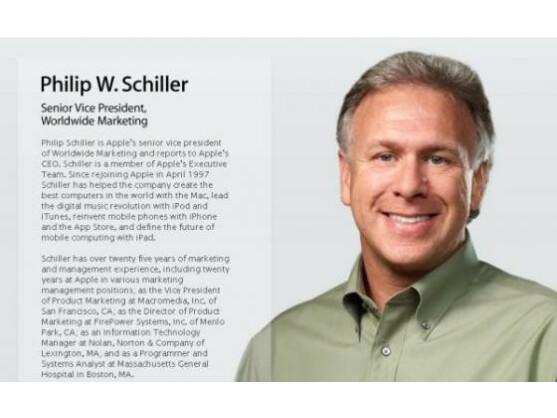 Apples Marketing-Chef Phil Schiller: Kritik an der Android-Fragmentierung,