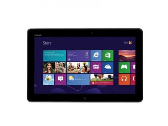 Das Asus Vivo Tab kommt auf Wunsch mit einem praktischen Tastatur-Dock, welches das Tablet bei Bedarf auch auflädt.
