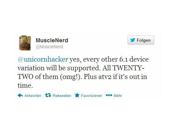 Bald ist es wohl soweit: Das Untethered Jailbreak für iOS 6 steht in den Startlöchern. Offenbar hat Apple die Lücke, die von den Hackern ausgenutzt wird, mit dem aktuellen Update nicht behoben