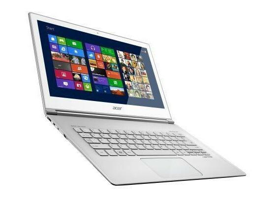Besonders edel und mit Touchscreen: Acer S7