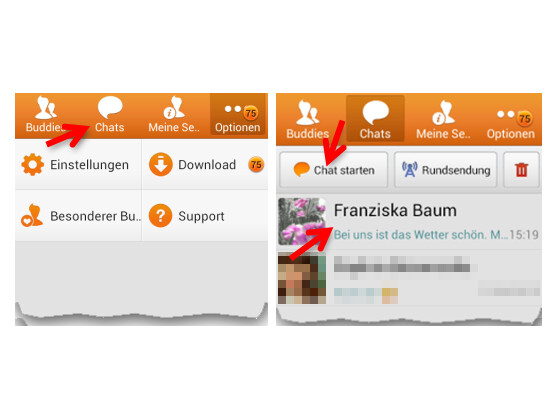 Online chat kostenlos anmeldung