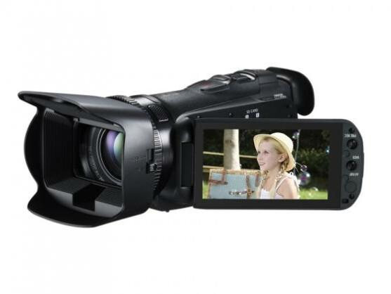 Der Camcorder bietet viele Einstellungsmöglichkeiten für Hobbyfilmer.