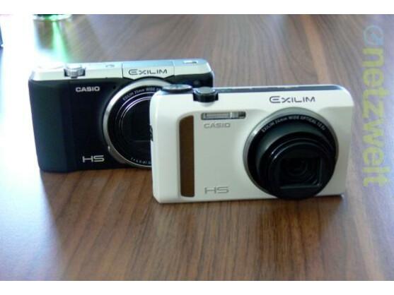 Casio präsentiert mit der Exilim ZR 700 (links) und der ZR 400 zwei neue Kompaktkameras.