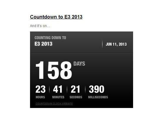 Der Countdown sorgt für wilde Spekulationen.