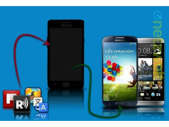 Mit einigen Apps können Sie ihr Smartphone in ein Galaxy S4 oder HTC One verwandeln.