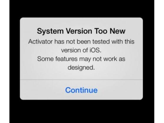 Erfolgreich installiert unter iOS 7: die Jailbreak-App Activator.