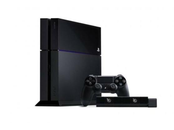 Die ersten Produktfotos zeigten die PS4 immer mit Kamera.