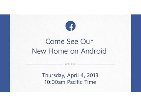 Facebook lädt US-Medien zu einer Produktpräsentation am 4. April.