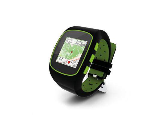 Die finale Version der WearIt-Smart Watch.