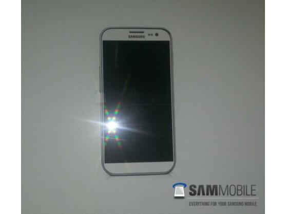 Dieses Foto soll ein Rendering des Samsung Galaxy S4 zeigen.