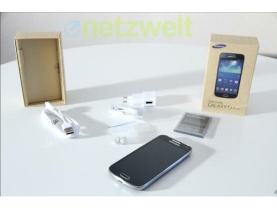 Das Galaxy S4 Mini ist in der Redaktion eingetroffen.