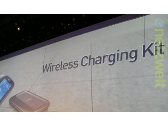 Das Galaxy S4 soll mit Technik zum drahtlosen Aufladen des Smartphones ausgestattet sein.