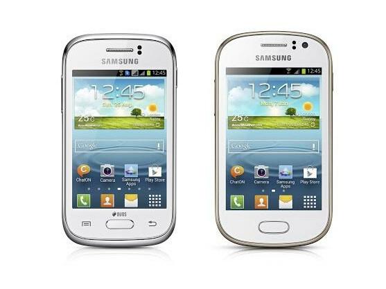 Das Galaxy Young (links) und das Galaxy Fame (rechts) sind die neuesten Mitglieder der Galaxy-Familie von Samsung.