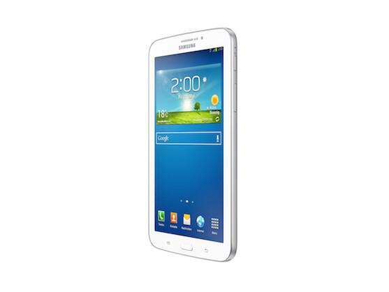 Das günstige Modell der Reihe ist das Galaxy Tab 3 7.0. Es ist ab sofort erhältlich und kostet 209 Euro.