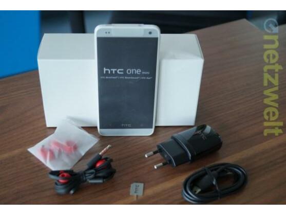 Das HTC One Mini ist in der netzwelt-Redaktion eingetroffen.