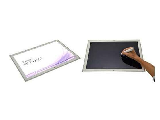 Ideal zur Anzeige von Zeitungen und Magazinen: das 4K-Tablet von Panasonic.
