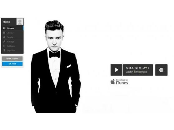 Justin Timberlake rührt auf und für MySpace ordentlich die Werbetrommel.