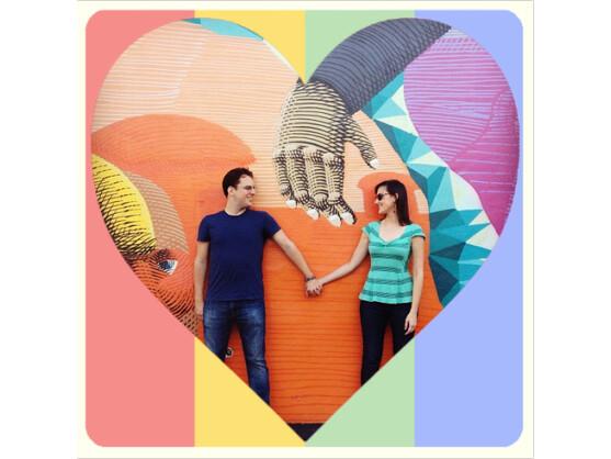 Lovestagram verpasst Instagram-Fotos passende Valentinstags-Filter.