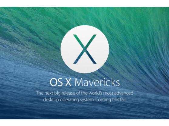 Mac OS X Mavericks liegt derzeit nur als Version für Entwickler vor. Ab Herbst kann jeder Nutzer es über den App Store herunterladen.