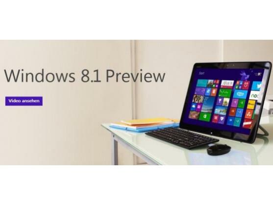 Microsoft hat eine erste Preview von Windows 8.1 Online gestellt.