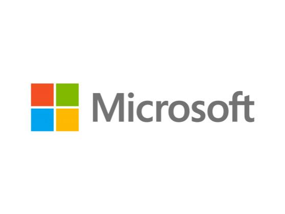Auch Microsoft wurde attackiert.