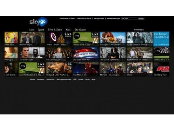 Mobiles Bezahlfernsehen Sky Go: Bundesliga-Empfang ist jetzt auch von unterwegs via Mobilfunk möglich.