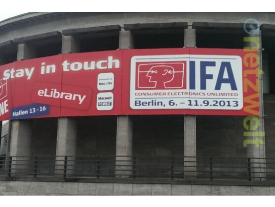 Netzwelt berichtet für Sie live aus Berlin von der IFA.