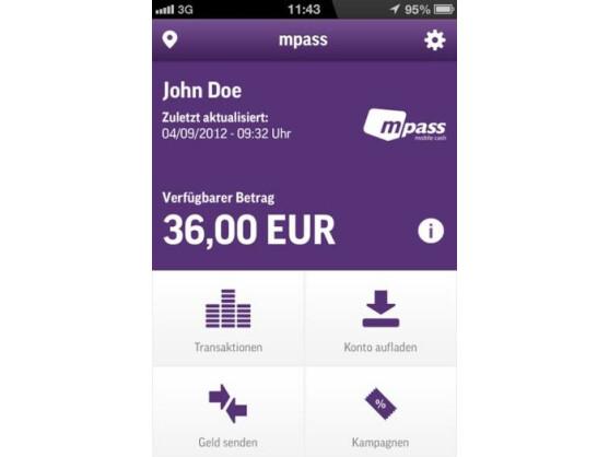 O2-Kunden können bald via mPass Geld mit dem Smartphone überweisen.