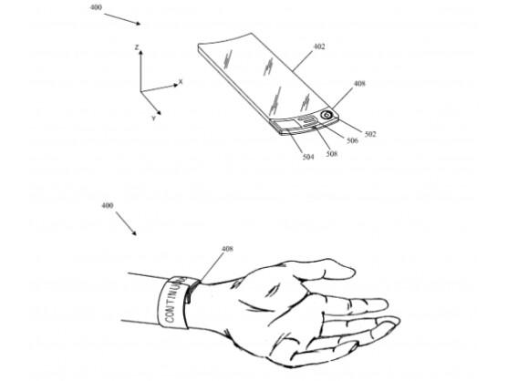 In dem Patent sind die Funktionen und der Aufbau des Armbands genau geschildert.