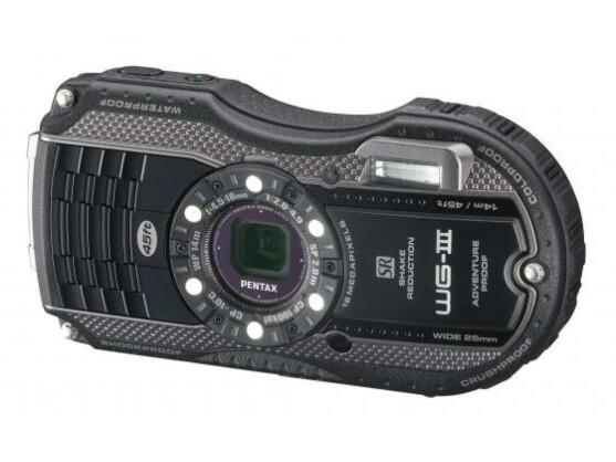 Die Pentax WG-3 gibt es wahlweise auch mit einem GPS-Modul.
