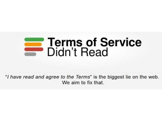 Auf der Plattform Terms of Service; Didn't Read werden AGB entschlüsselt.