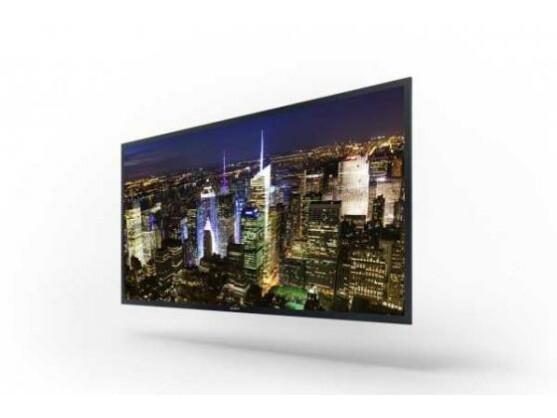 Ein Prototyp: Sony zeigt auf der CES den angeblich ersten und größten OLED-TV mit 4K-Auflösung.