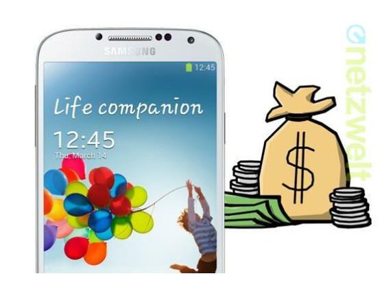 Galaxy S4: Das neue Samsung-Smartphone gibt es subventioniert beim Provider.