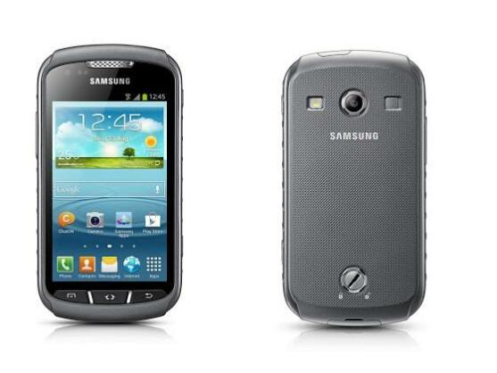 Samsung präsentiert mit dem Galaxy Xcover 2 ein robustes Smartphone.