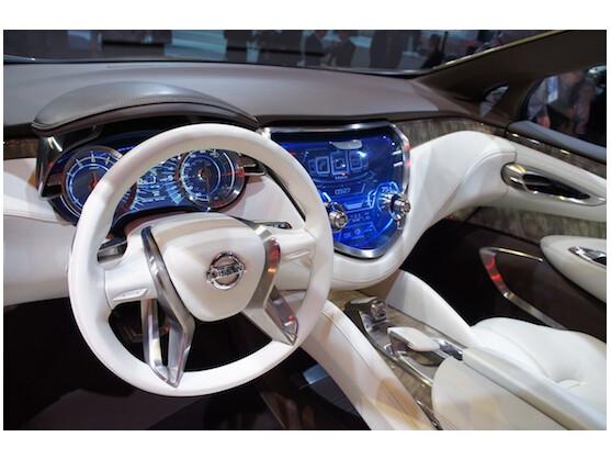 Sieht toll aus, geht aber nie in Serie: Innenraum des Resonance SUV Concept von Nissan