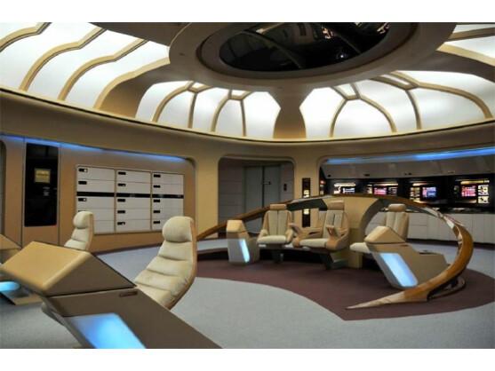 Raumschiff Enterprise Brücke Des Raumschiff Enterprise