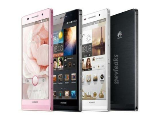 So soll es aussehen: Das Huawei Ascend P6.