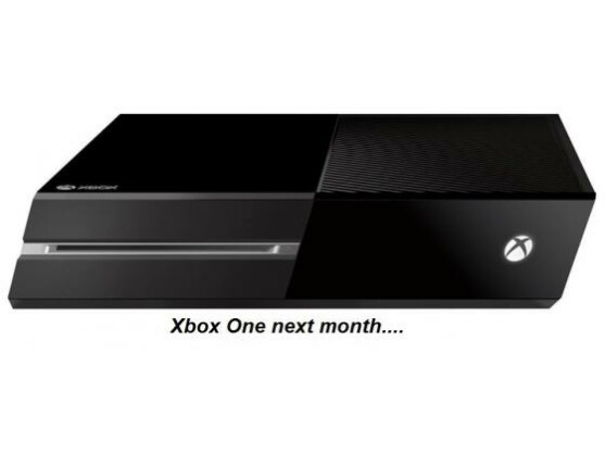 So könnte die neue Version der Xbox One aussehen.