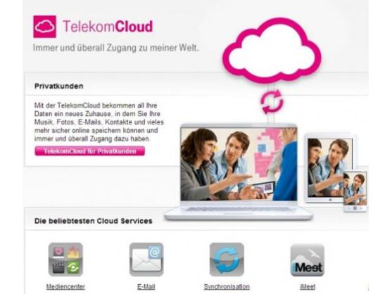 Die Telekom Cloud liefert Tolino-Nutzern 25 Gigabyte Speicher.