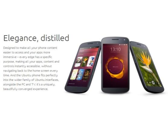 Ubuntu for Phones wird fast vollständig ohne Buttons gesteuert.