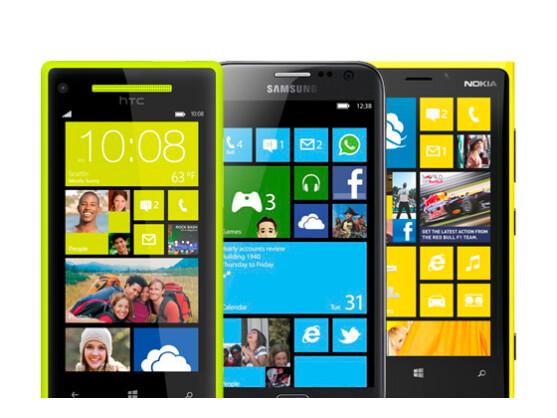 Alle aktuellen Windows Phone 8-Geräte sollen mit den Updates kompatibel sein.