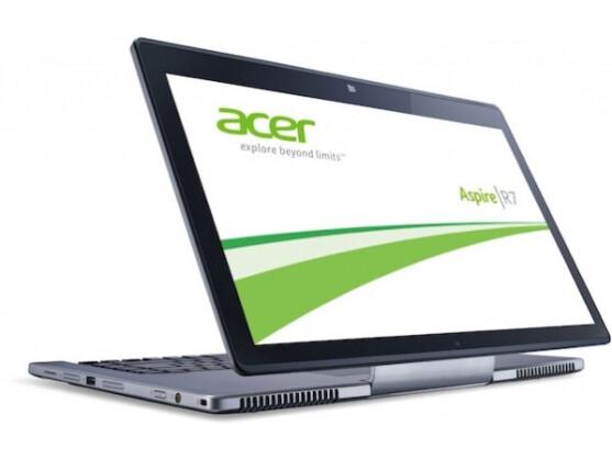 Walk Like An Egyptian: Das Acer Aspire R7 ist eines der derzeit ungewöhnlichsten Notebooks.