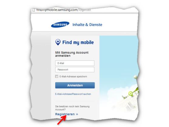 Webseite von SamsungDive.