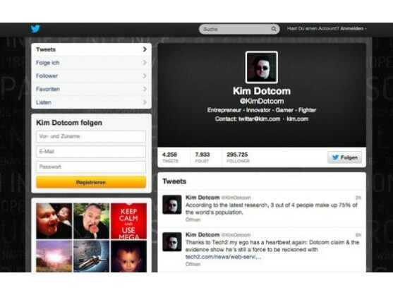 Wirft Google & Co. Urheberrechtsverstöße vor: Kim Schmitz alias Kim Dotcom.