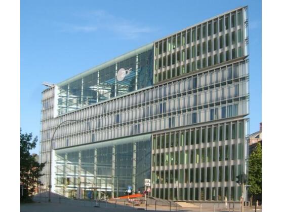 Das ZDF feiert in diesen Tagen seinen 50. Geburtstag. Das Foto zeigt das Landesstudio Hamburg.