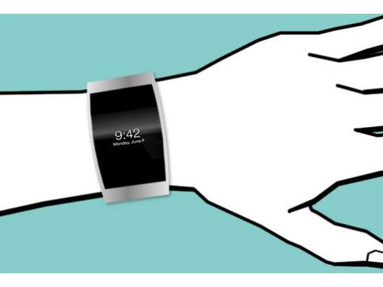 Ist zumindest mal im Gespräch: Uhr von Apple
