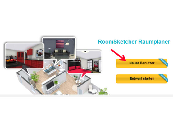 wohnungsplaner roomsketcher netzwelt. Black Bedroom Furniture Sets. Home Design Ideas