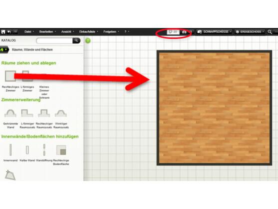 Autodesk homestyler erste schritte mit dem online for Raumgestaltung 2d