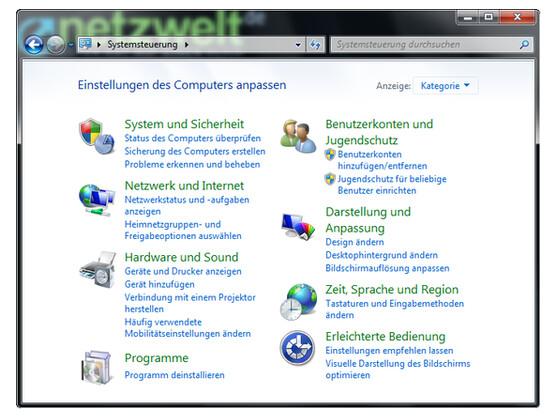 In der Systemsteuerung von Windows finden Sie einige nützliche Funktionen für die Datensicherung. Darunter auch die Erstellung eines Images.